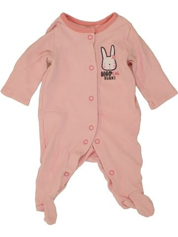 Pijama de 1 pieza niña PEP&CO rosa 0 meses verano #1492796_1