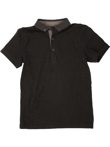 Polo manches courtes garçon FLIPBACK noir 11 ans été #1492807_1