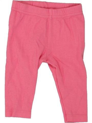 Pantalon fille PEP&CO rose 6 mois hiver #1492810_1
