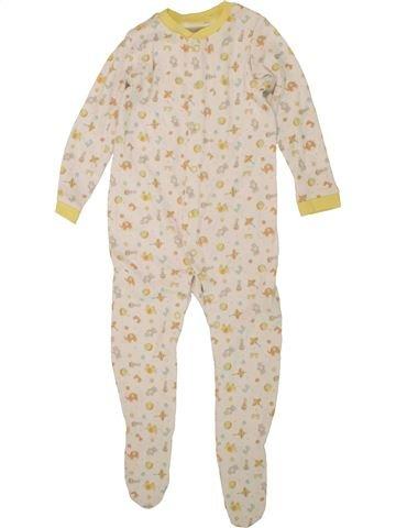 Pyjama 1 pièce garçon F&F beige 12 mois été #1492943_1