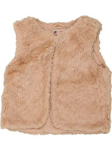 Gilet fille H&M rose 9 ans hiver #1492967_1