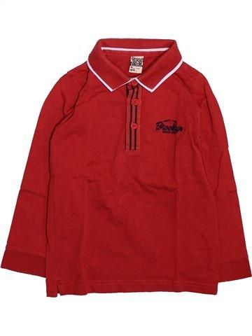 Polo de manga larga niño TAPE À L'OEIL rojo 4 años invierno #1492983_1
