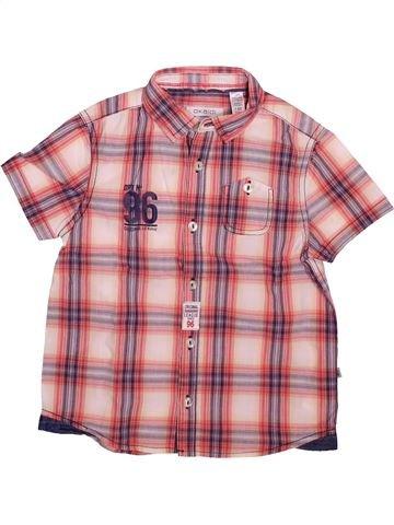 Chemise manches courtes garçon OKAIDI rose 4 ans été #1492985_1