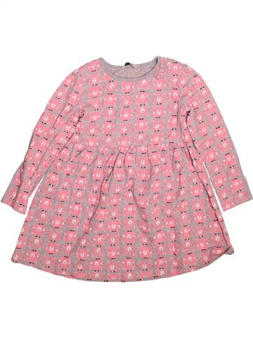 Robe fille GEORGE rose 6 ans hiver #1493063_1