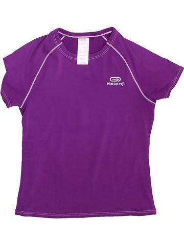 Ropa deportiva niña KALENJI violeta 6 años verano #1493124_1