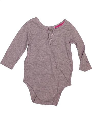 T-shirt manches longues fille OSH KOCH B'GOSH violet 9 mois hiver #1493192_1