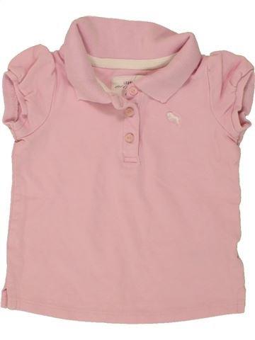 Polo manches courtes fille H&M rose 12 mois été #1493315_1