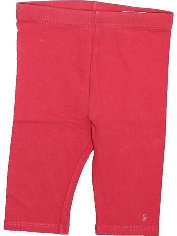 Legging fille OKAIDI rouge 18 mois été #1493322_1