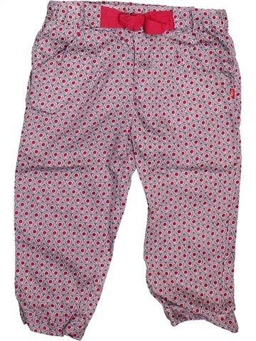 Pantalon fille OKAIDI violet 18 mois été #1493326_1