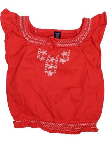 T-shirt sans manches fille GAP KIDS rouge 3 ans été #1493663_1