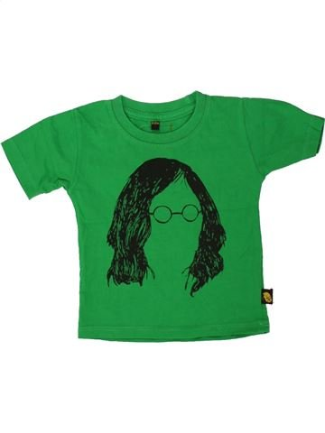 T-shirt manches courtes garçon ROCK A BYE BABY vert 12 mois été #1493666_1