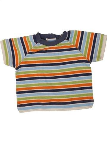 T-shirt manches courtes garçon BAMBINI gris 12 mois été #1493701_1