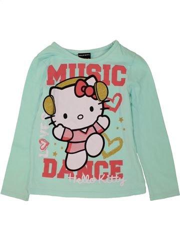 T-shirt manches courtes fille GEORGE gris 6 ans été #1493710_1