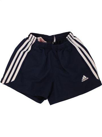 Pantalon corto deportivos niño ADIDAS blanco 10 años verano #1493715_1