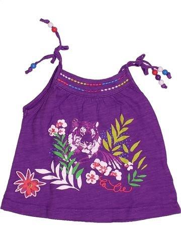 Camiseta sin mangas niña LA COMPAGNIE DES PETITS violeta 6 meses verano #1493729_1