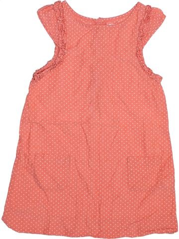Robe fille DPAM orange 5 ans été #1493860_1