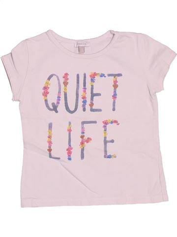 Camiseta de manga corta niña ABSORBA blanco 3 años verano #1493863_1