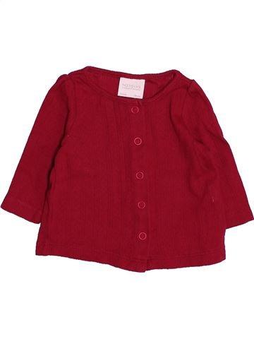 Chaleco niña NATALYS rojo 3 meses verano #1493905_1