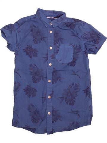 Chemise manches courtes garçon PRIMARK bleu 9 ans été #1493936_1