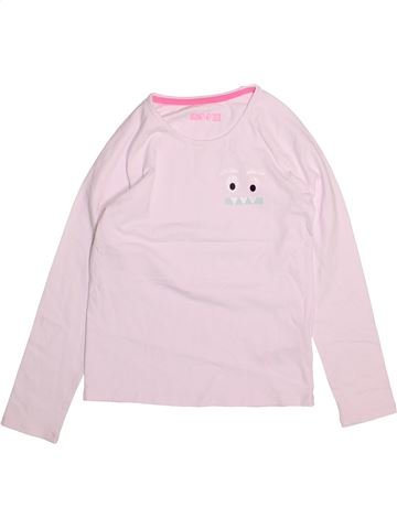 T-shirt manches longues fille MARKS & SPENCER rose 10 ans hiver #1493939_1