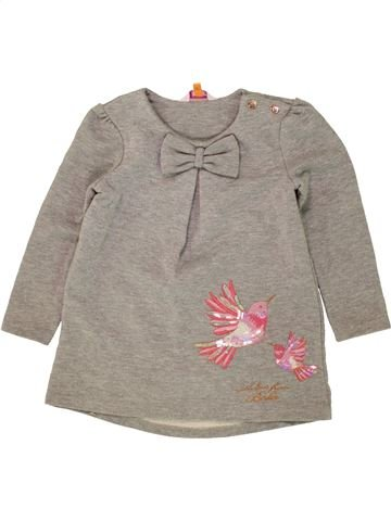 Robe fille TED BAKER gris 4 ans hiver #1493955_1