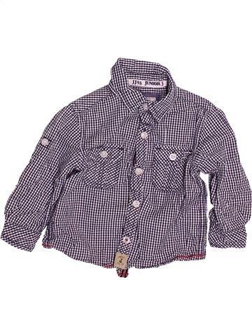 Chemise manches longues garçon JASPER CONRAN violet 18 mois hiver #1493963_1