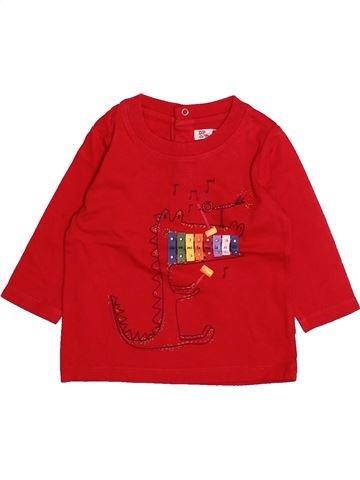Camiseta de manga larga niño DPAM rojo 3 meses invierno #1494010_1