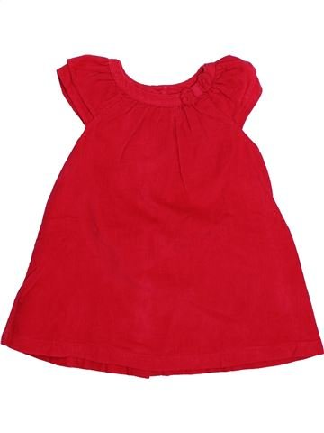 Robe fille DPAM rouge 9 mois hiver #1494046_1