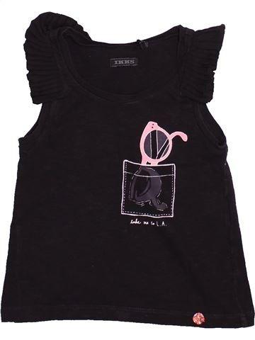 Camiseta de manga corta niña IKKS negro 3 años verano #1494049_1