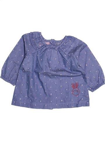 Blouse manches longues fille DPAM violet 6 mois hiver #1494054_1