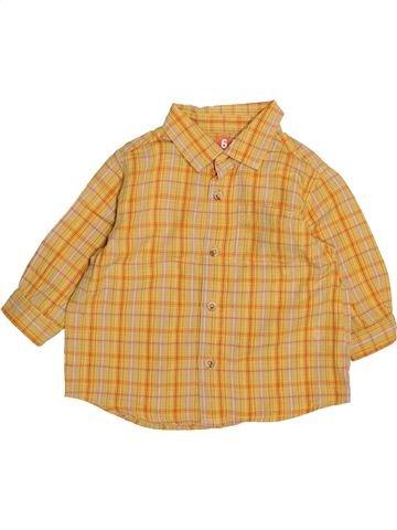Camisa de manga larga niño DPAM naranja 6 meses invierno #1494092_1