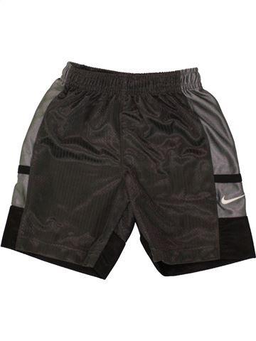 Pantalon corto deportivos niño NIKE negro 3 años verano #1494149_1