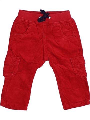 Pantalón niño TAPE À L'OEIL rojo 6 meses invierno #1494164_1