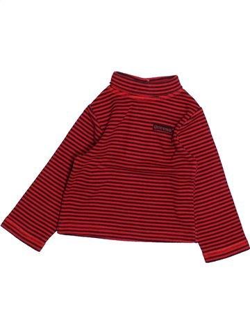 T-shirt col roulé garçon TAPE À L'OEIL rouge 18 mois hiver #1494218_1