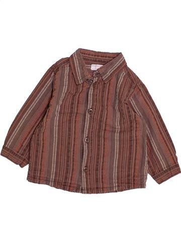 Camisa de manga larga niño KIMBALOO violeta 12 meses invierno #1494236_1