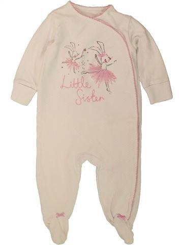 Pyjama 1 pièce fille NEXT beige 6 mois été #1494239_1