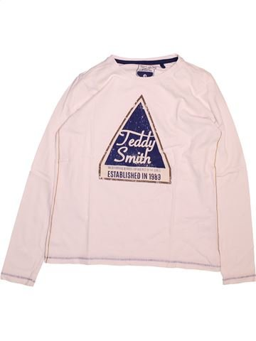 T-shirt manches longues garçon TEDDY SMITH rose 12 ans hiver #1494334_1