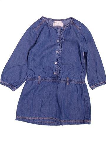 Robe fille TAPE À L'OEIL bleu 18 mois hiver #1494458_1