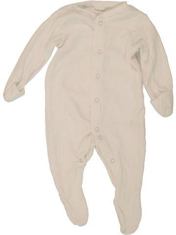 Pyjama 1 pièce unisexe TU bleu 1 mois été #1494573_1