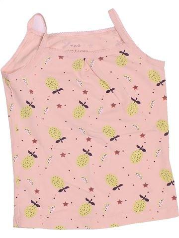 T-shirt sans manches fille TAPE À L'OEIL rose 3 ans été #1494601_1