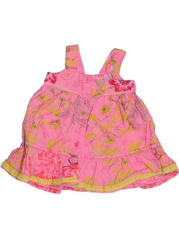 Blusa de manga corta niña 3 POMMES rosa 6 meses verano #1494605_1