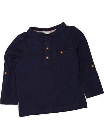 T-shirt manches longues garçon MINI CLUB noir 12 mois hiver #1494611_1