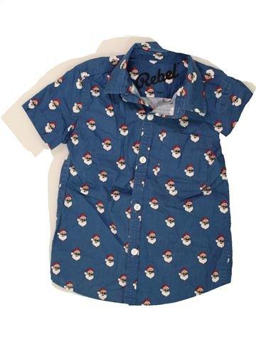 Camisa de manga corta niño PRIMARK azul 7 años verano #1494638_1