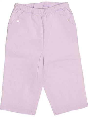 Pantalón niño CYRILLUS blanco 9 meses verano #1494647_1