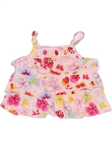 Blusa de manga corta niña LA COMPAGNIE DES PETITS blanco 9 meses verano #1494648_1