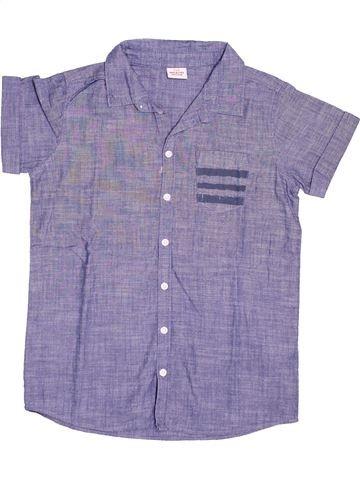 Chemise manches courtes garçon TAPE À L'OEIL gris 10 ans été #1494659_1