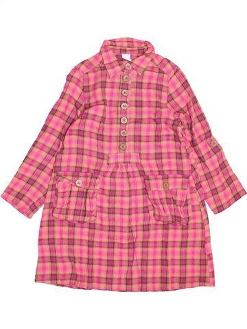Robe fille PETIT BATEAU rose 8 ans hiver #1494666_1