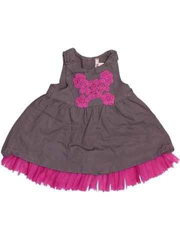 Robe fille ORCHESTRA gris 6 mois hiver #1494673_1