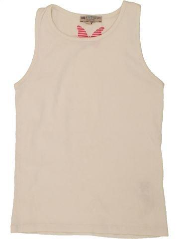 T-shirt sans manches fille MARKS & SPENCER beige 8 ans été #1494693_1