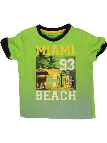 Camiseta de manga corta niño PEP&CO verde 2 años verano #1494787_1
